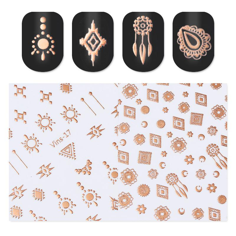 Stickers Rose Gold
