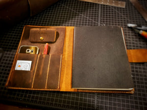 The Cortez Leather Portfolio
