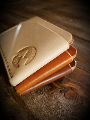 Tennyson minimalist wallet vegetable tanned