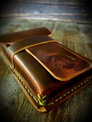 1876 Robusto Leather Cigar Pouch