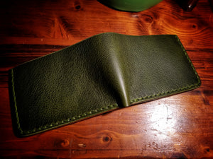 Buffalo Bifold Wallet - Italian Leather (Pueblo Two Toned)