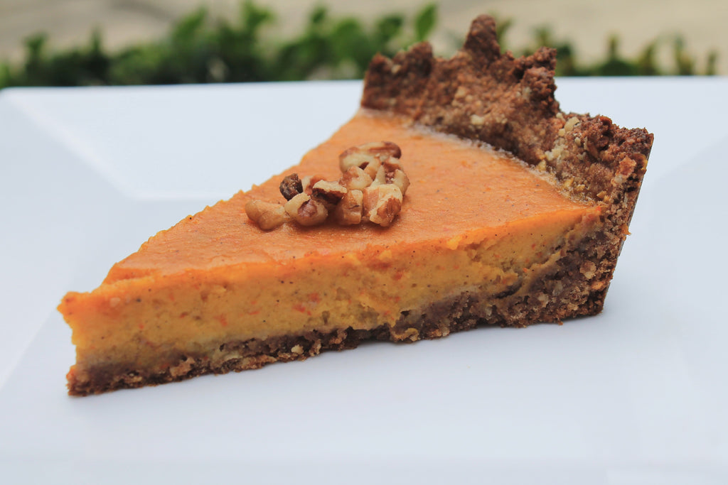 Pie de calabaza saludable| Pumpkin Pie