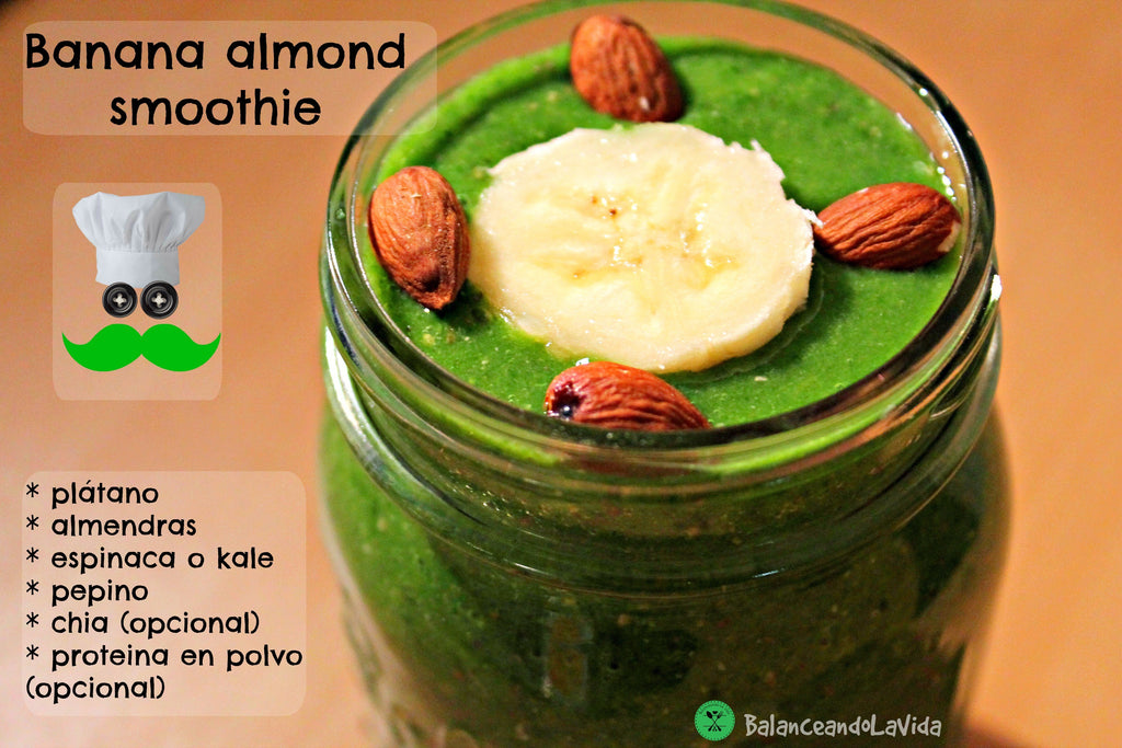 Banana-Almond Smoothie