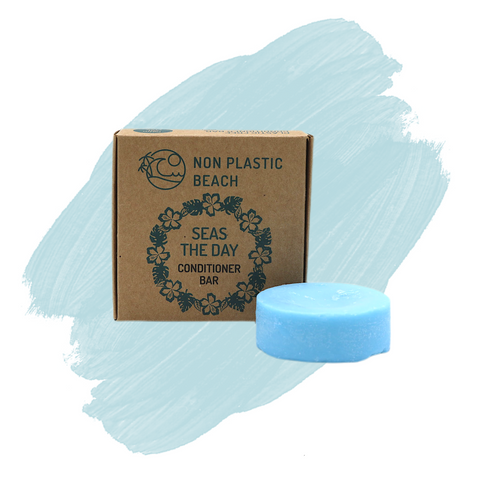 Non Plastic Beach Seas the Day Conditioner Bar