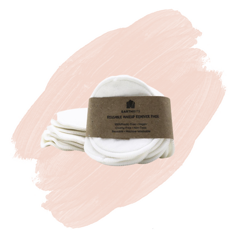 EarthBits Bamboo & Cotton Facial Rounds x 10