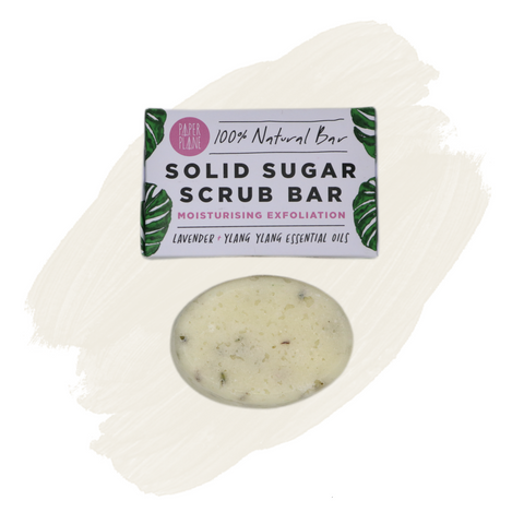 Paper Plane Sugar Scrub Bar