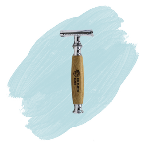Non Plastic Beach Bamboo Safety Razor