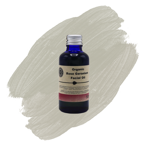 Heavenly Organics Facial Oil Rose Geranium