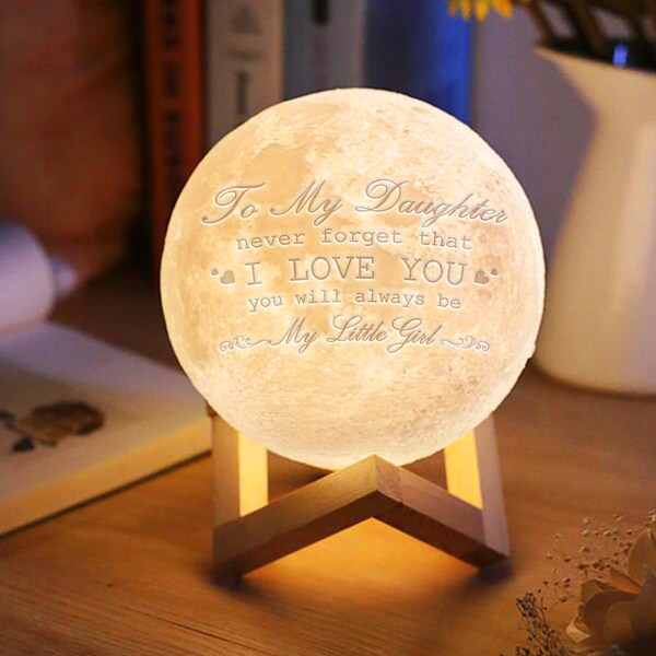 Daughter - Love You Moon Lamp