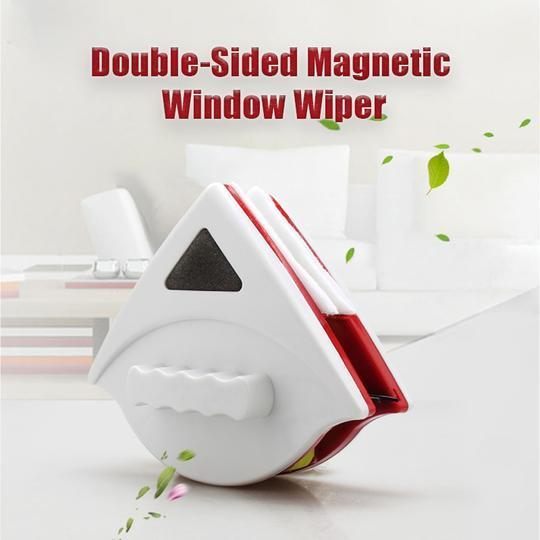 Double-Sided Magnetic Window Wiper