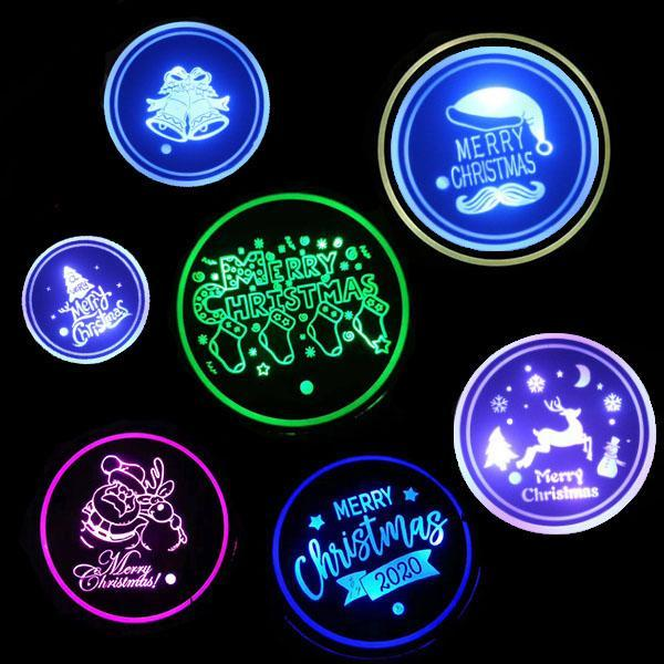 Christmas Series Luminous LED Coaster