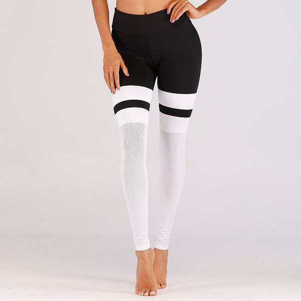 2019 New【Gauze splicing 】Yoga Pants