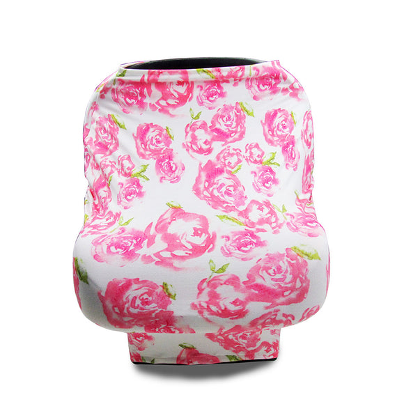 Baby Car Seat Cover Canopy and Nursing Cover