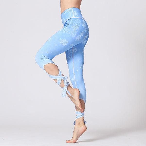 2019 New Yoga Pants in Europe and America【Quick Drying】【Ventilation】【Bandage】