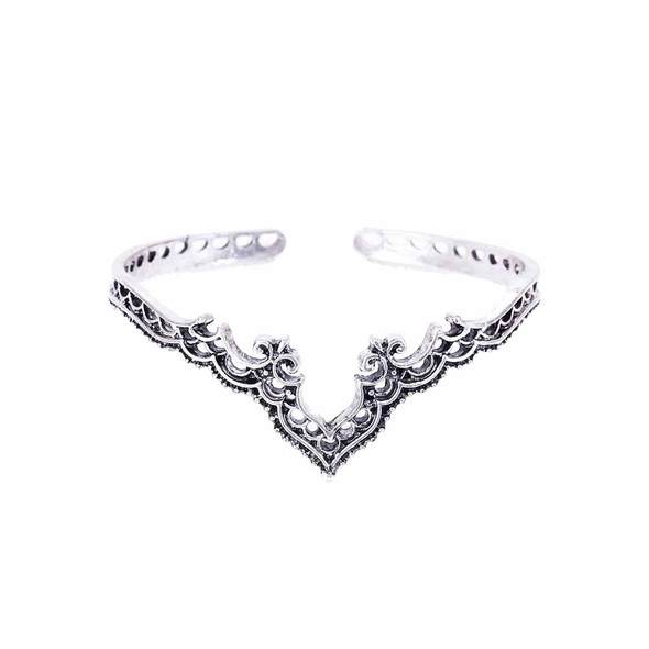 Bohemian Crown Bangle