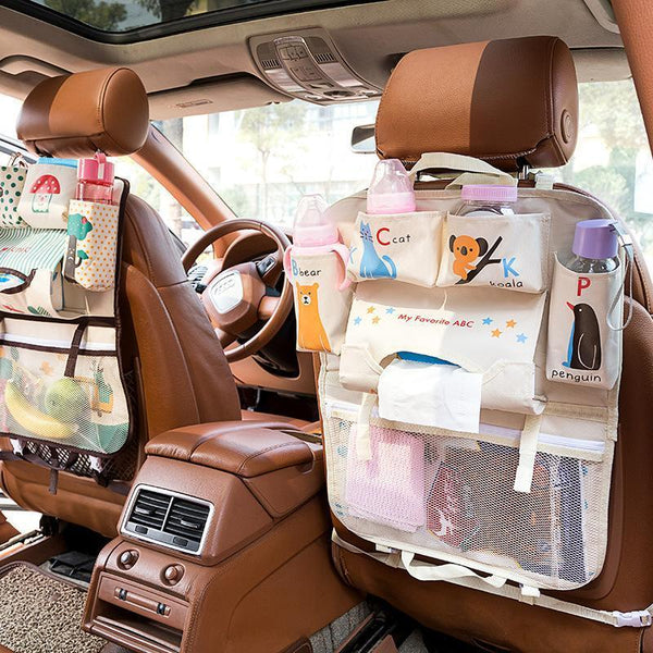 Kids Car Seat Storage Organizer