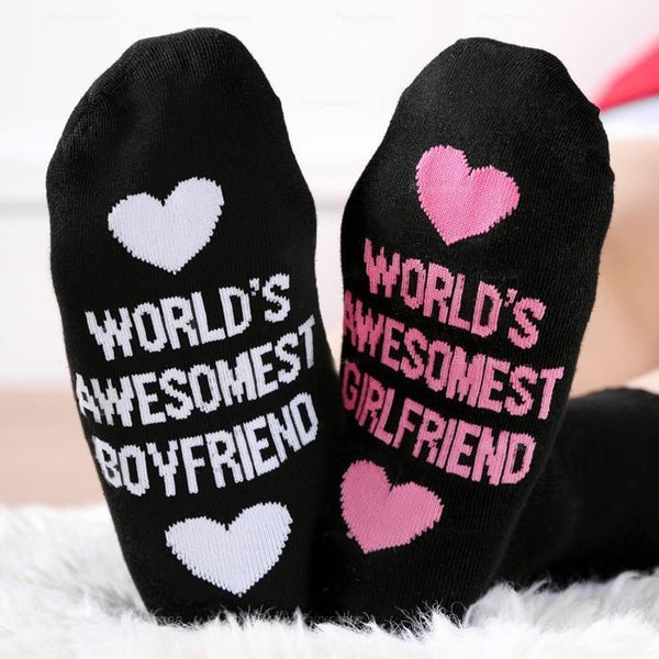 Custom Couple Socks