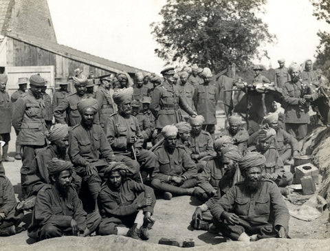 Indian soldiers in the British Army