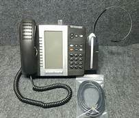 Mitel 5330e VoIP W/Cordless Headset 50005712 56008569A Refurbished