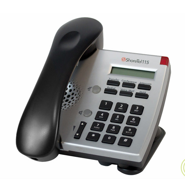 ShoreTel IP115 Phone Silver