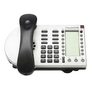 ShoreTel 212K  IP Phone Silver (Refurbished)