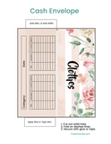 Floral Printable Cash Envelopes