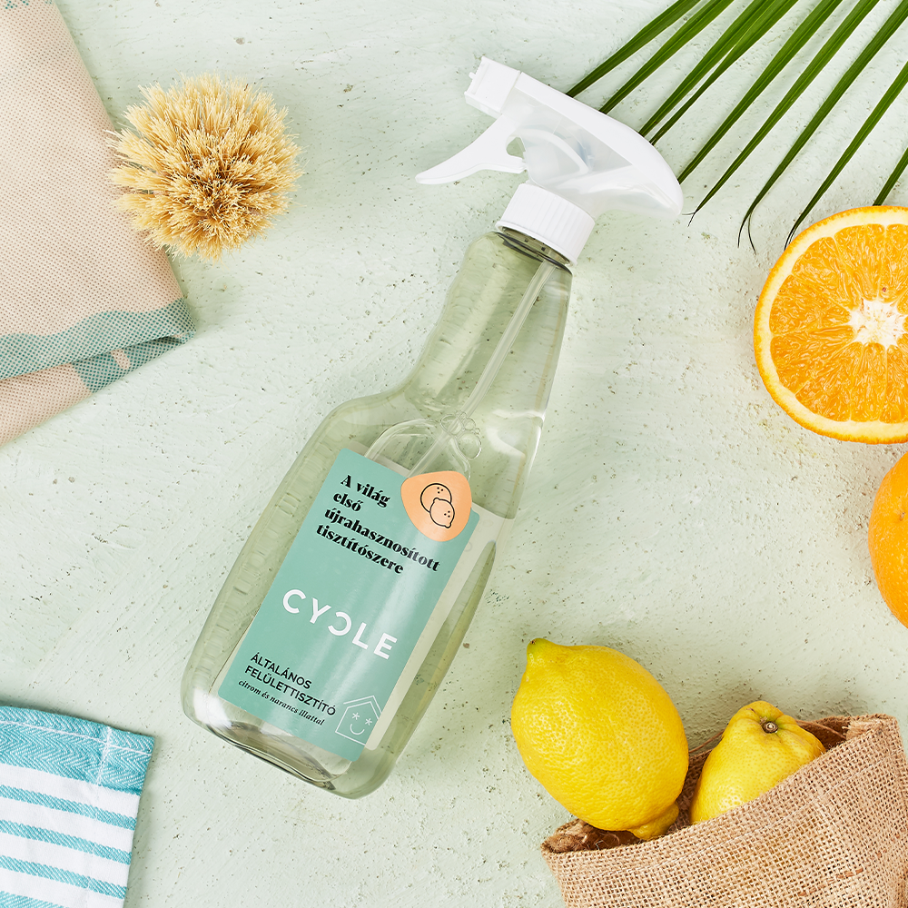 All-Purpose cleaner from Cycle the world's first recycled cleaning products
