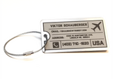 10pack TUFF TAG - Nearly Indestructible Luggage Tag