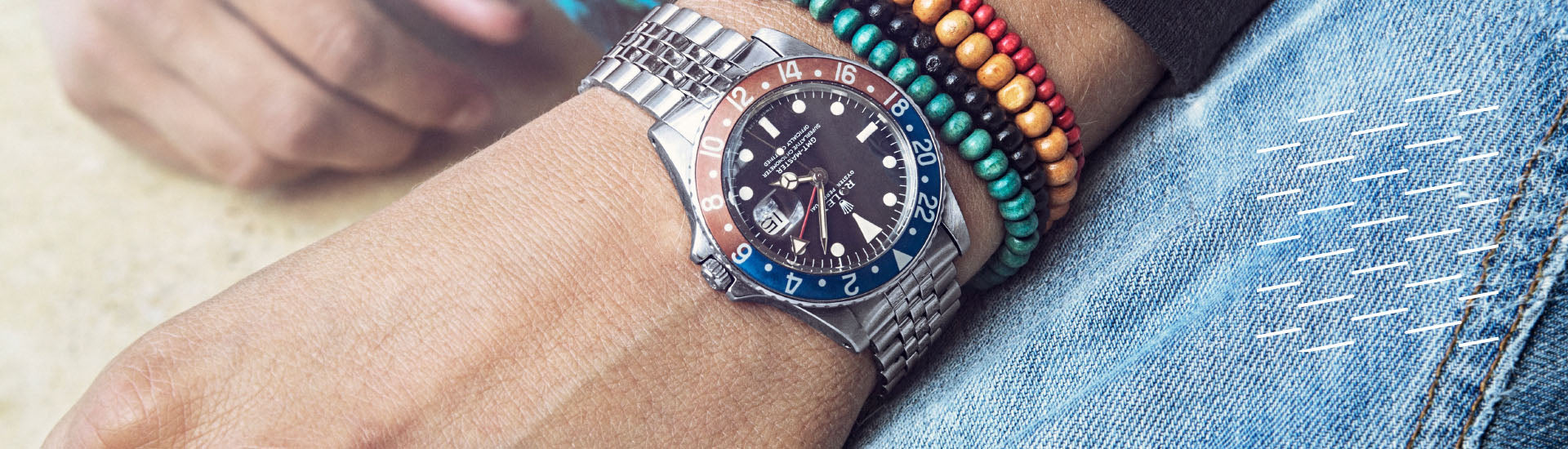 Finest vintage watches from Rolex, Omega, Here, Tudor , Patek Philippe