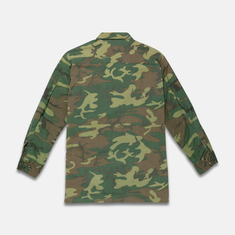 30/50 Vintage Camo Jungle Jacket - Fits Medium