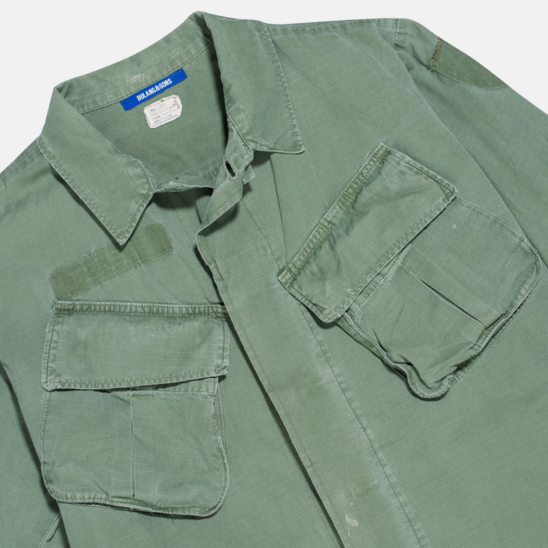 08/50 Vintage Olive Jungle Jacket - Fits Medium Long