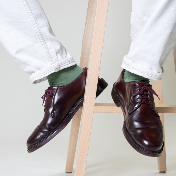 Burlington Rhomb Khaki Green Socks