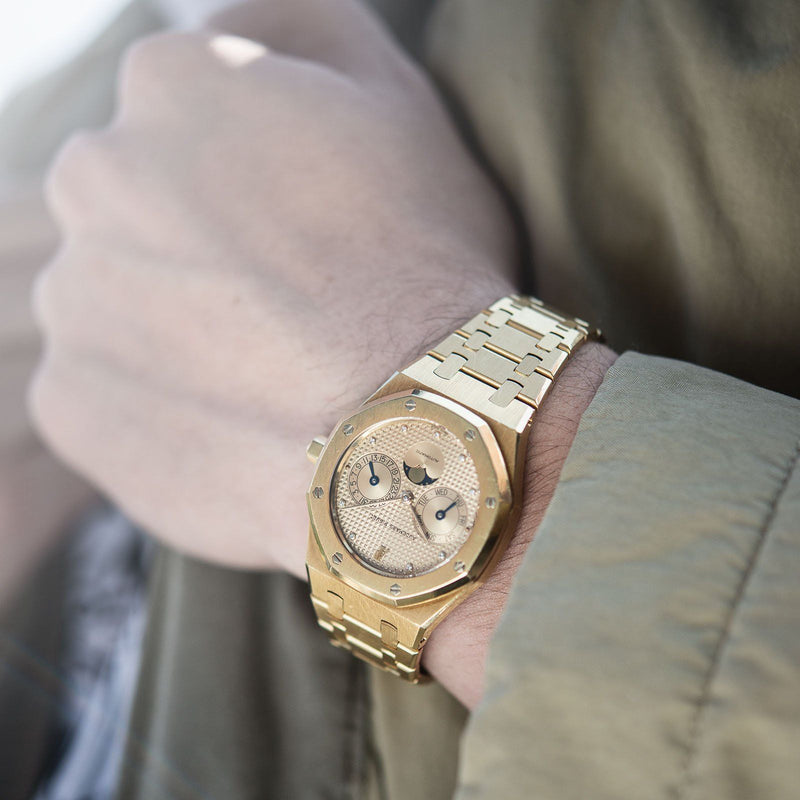 Audemars Piguet Royal Oak Yellow Gold Day Date 25594