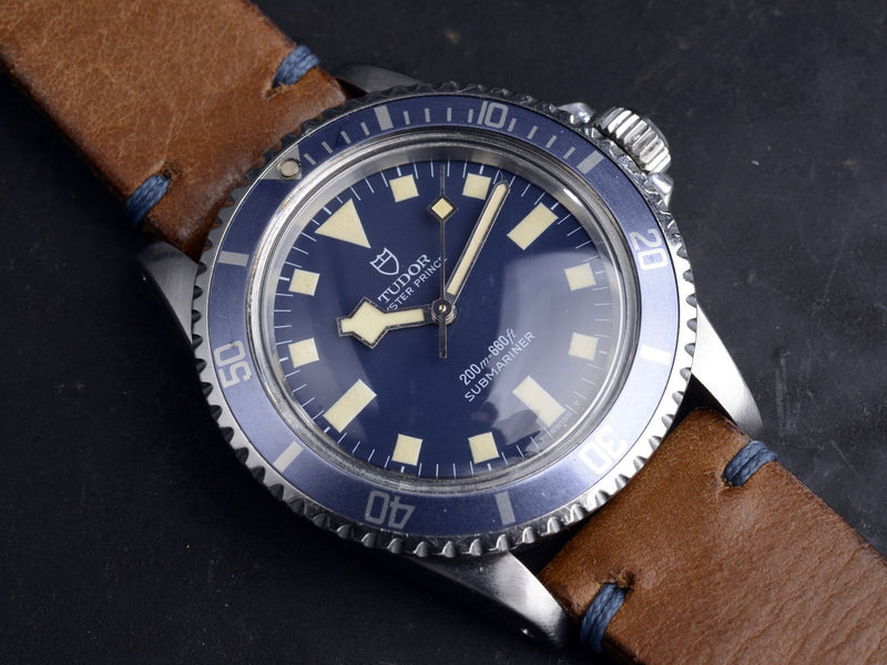 AMAZING TUDOR MN '77 BLUE SNOWFLAKE SUBMARINER