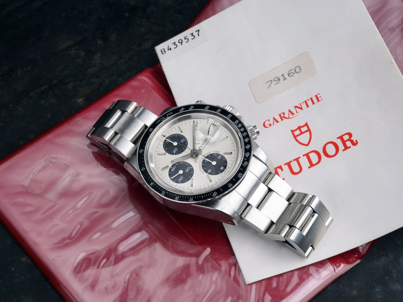 CURATED TUDOR 79160 BIG BLOCK CHRONOGRAPH B+P