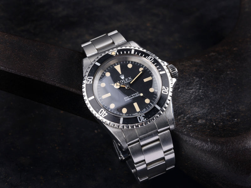 CURATED ROLEX 5513 METERS FIRST SUBMARINER