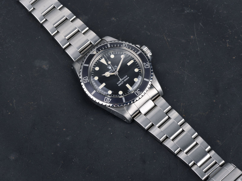 CURATED 'URBAN INSTINCT' ROLEX 5513 MAXI MK4 SUBMARINER
