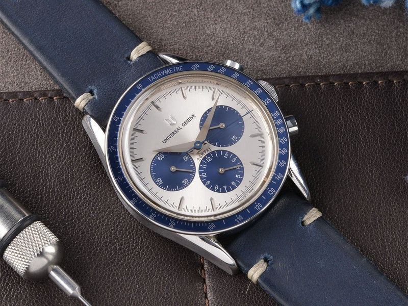 UNIVERSAL GENEVE COMPAX CHRONOGRAPH 884 . 495