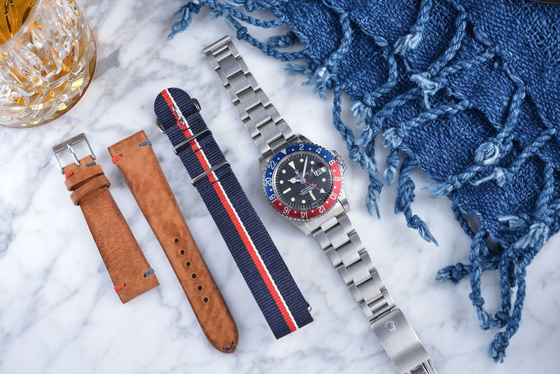 ROLEX 1675 RADIAL CURATED ' PAN AM PACK '
