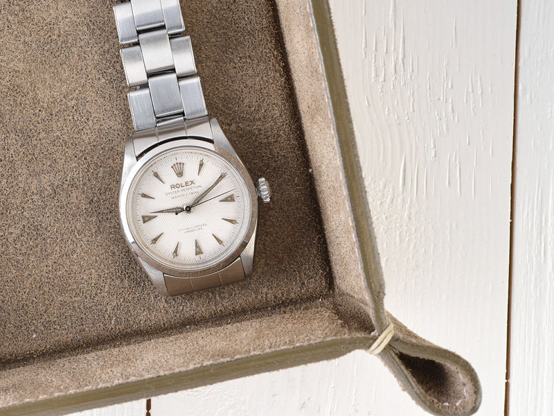 ROLEX OYSTER PERPETUAL SERPICO Y LAINO HONEYCOMB DIAL