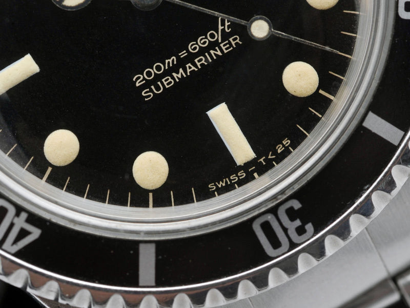 CURATED ROLEX 5513 BART SIMPSON SUBMARINER