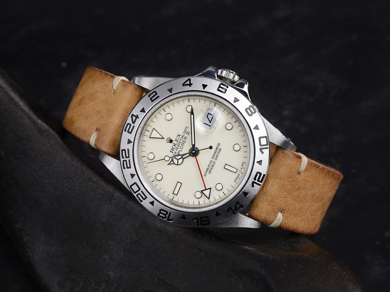 CURATED ROLEX 16550 CREAM DIAL EXPLORER