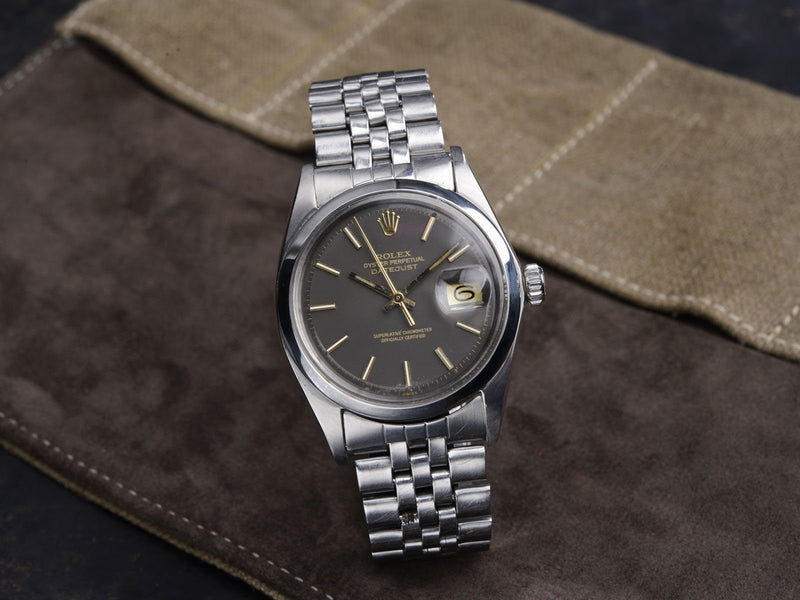ROLEX 1600 DATEJUST, GOLD PRINT