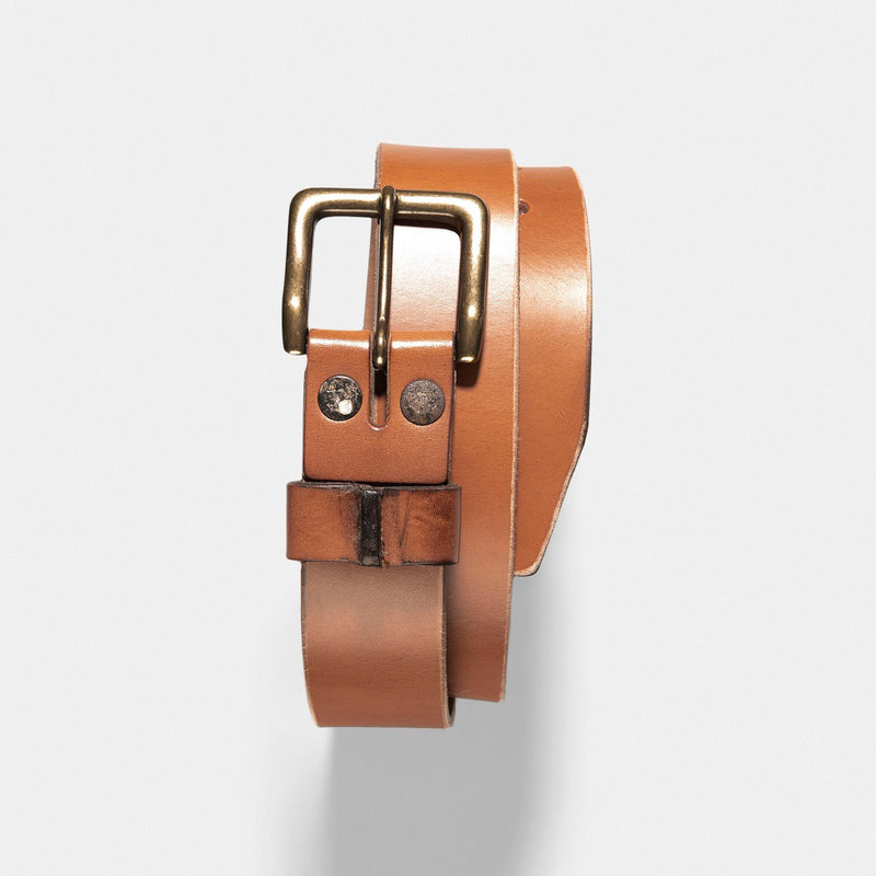 Grivec Bros Brown Leather Service Belt