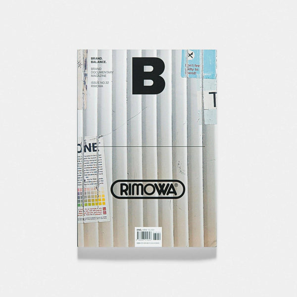 Magazine B Issue 32 RIMOWA