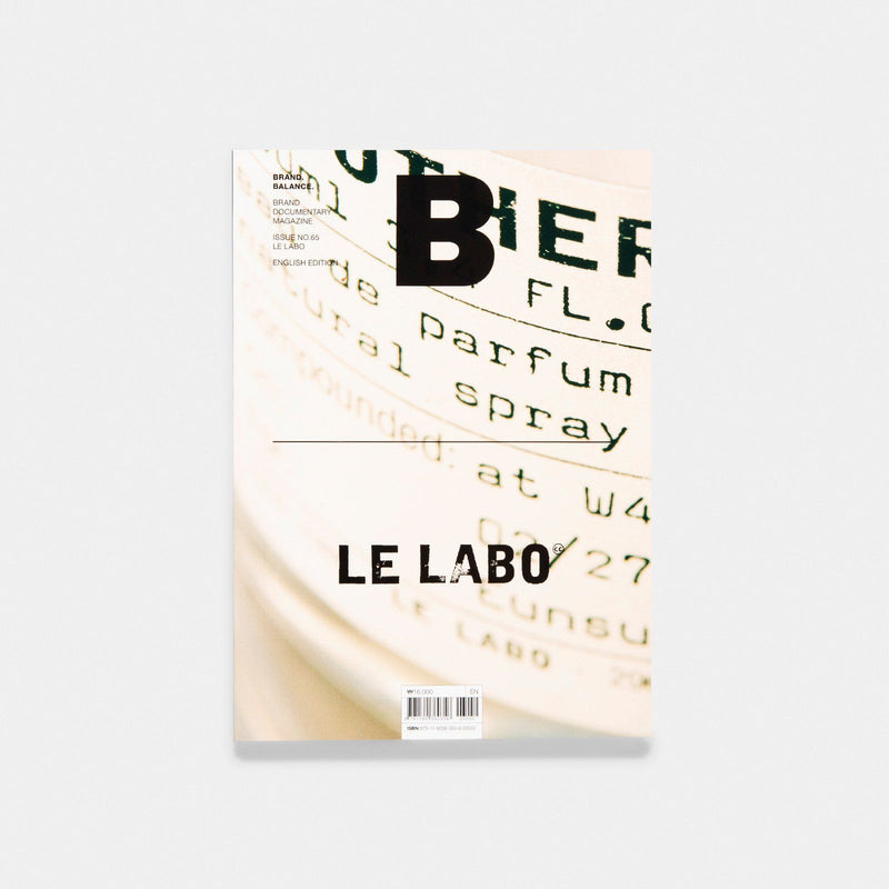 Magazine B Issue 65 LE LABO
