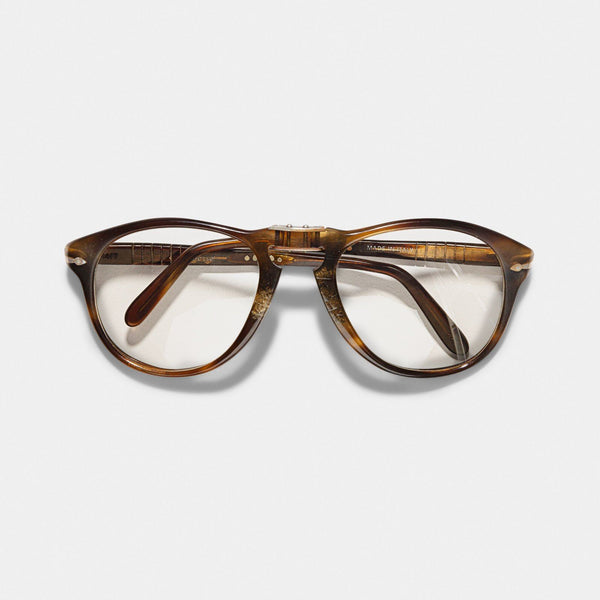 Vintage Persol Ratti 714/T Grey Brown Steve McQueen