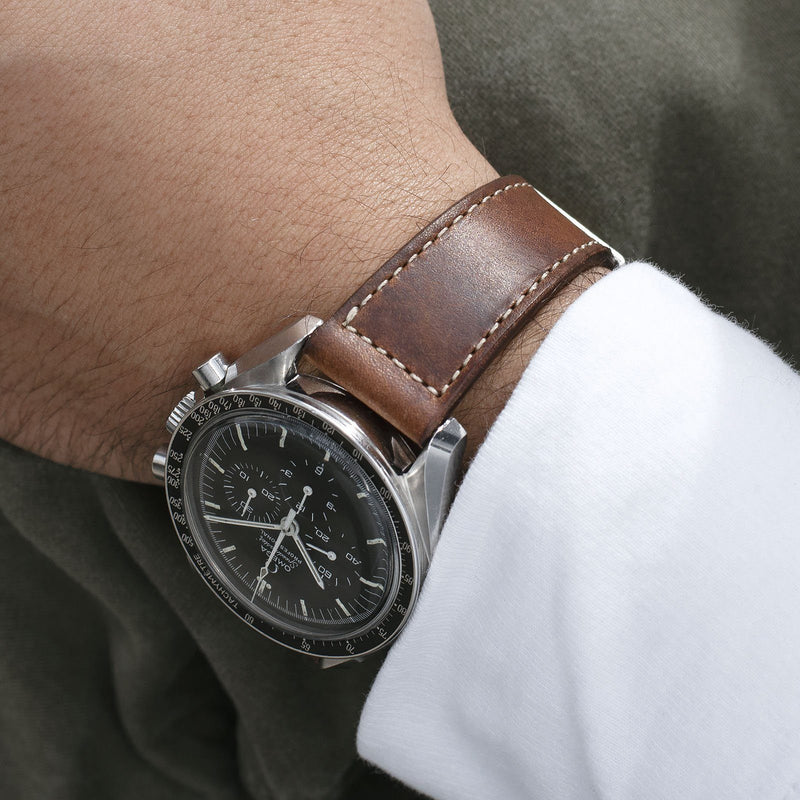 Omega Curated 3 Leather Watch Strap Set