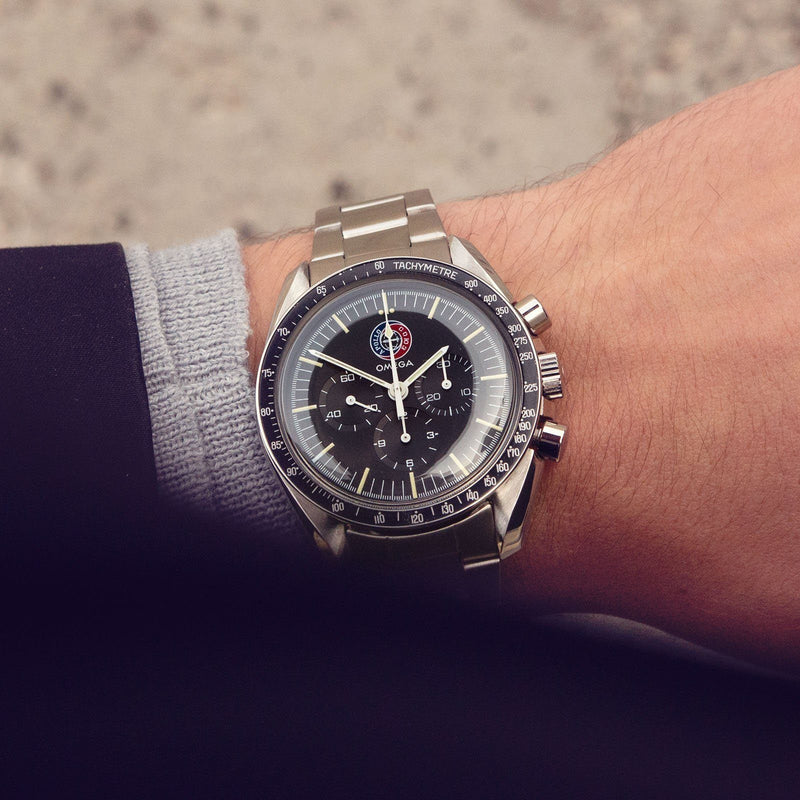 Omega Speedmaster Apollo Soyuz 145.022 with Archive Extract