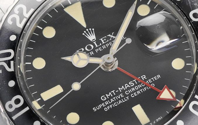 Rolex MK4 1675 All Red Hand GMT